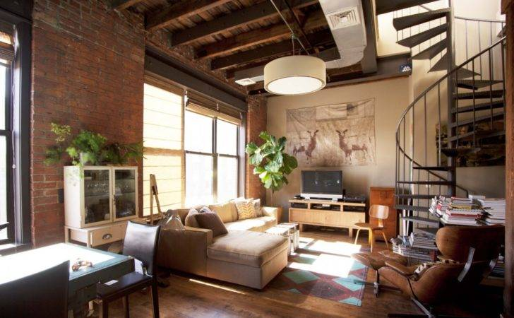 Phenomenal Industrial Style Living Room Designs
