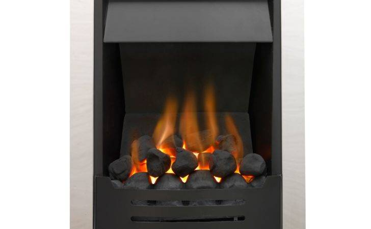 Phoenix Black Manual Control Inset Gas Fire