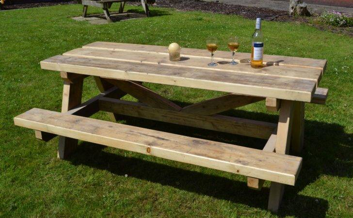 Picnic Bench Glasgow Wood Recycling