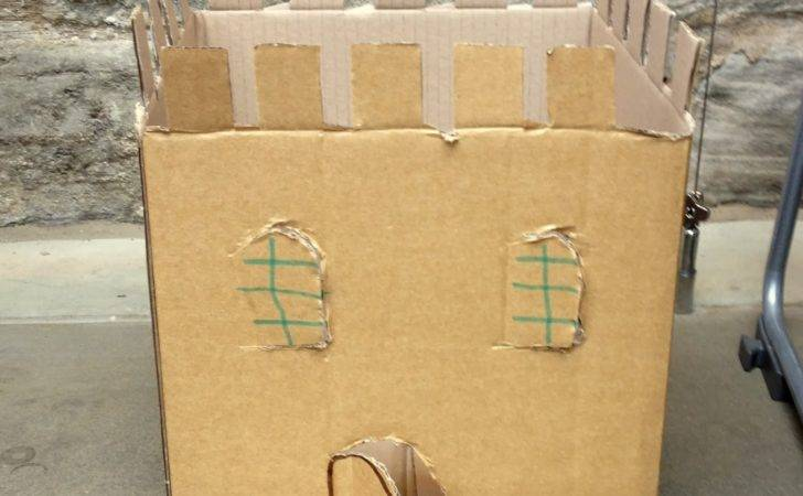 Pin Cardboard Castle Designs Pinterest