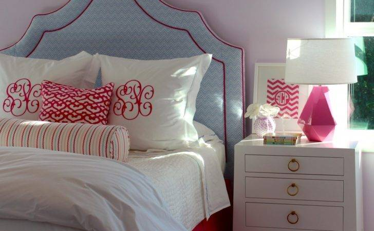 Pink Blue Rooms Girls Modern World Furnishing