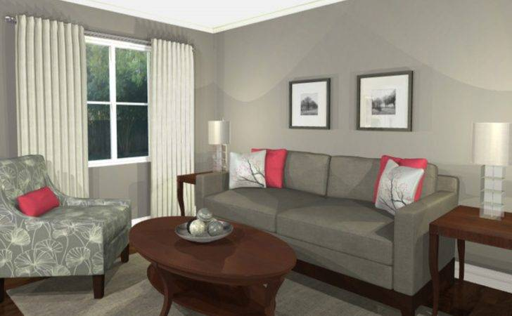 Pink Grey Living Room Ideas