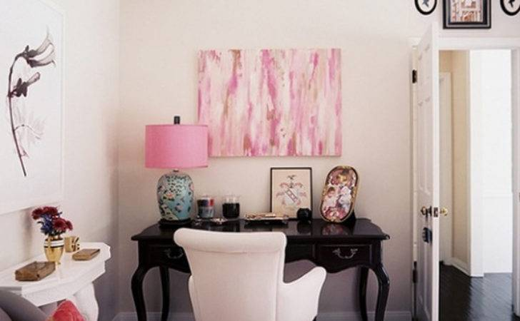 Pink Office Ideas Cute Space Girl Home Design