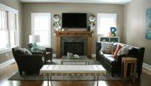 Placement Large Rectangular Living Room