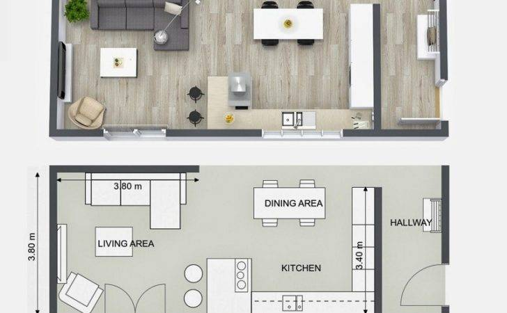 Plan Your Kitchen Design Ideas Roomsketcher