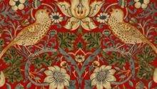 Plastic Tablecloths William Morris Strawberry Thief