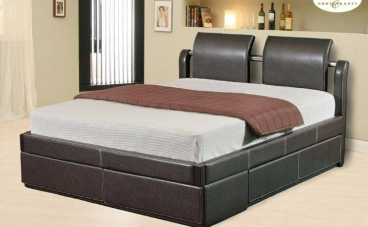 Platform Bed Drawers Design