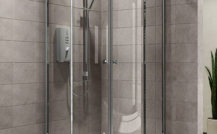 Plumbsure Quadrant Shower Enclosure Double Sliding