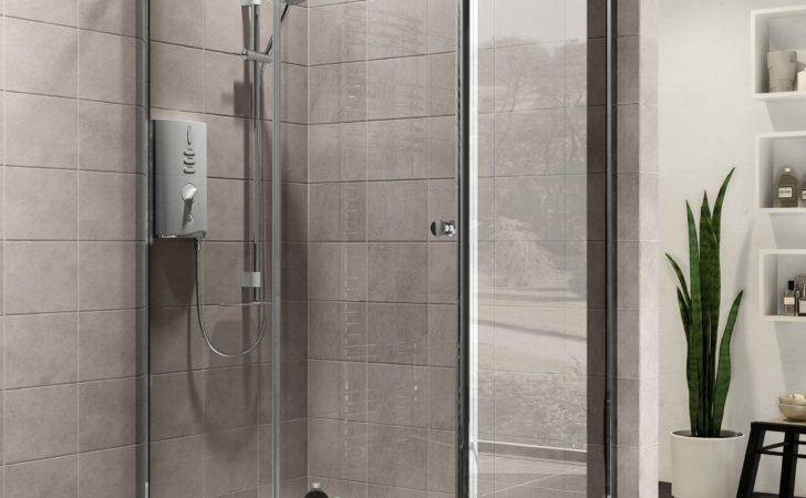 Plumbsure Rectangular Shower Enclosure Single Sliding
