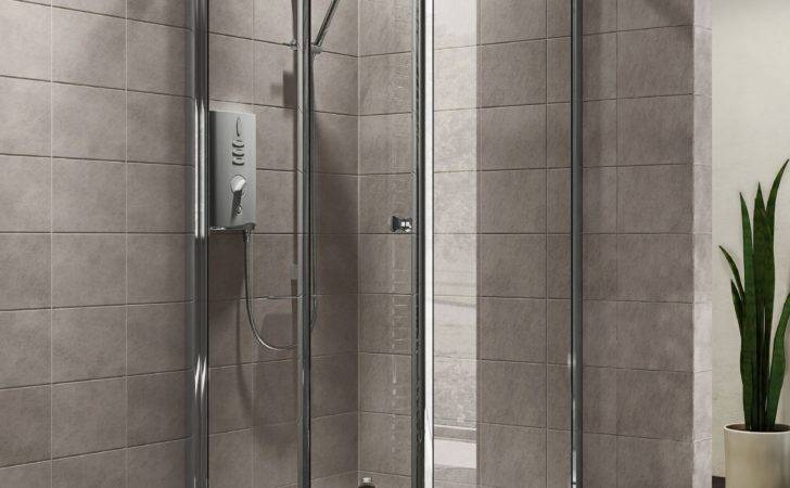 Plumbsure Square Shower Enclosure Fold Door