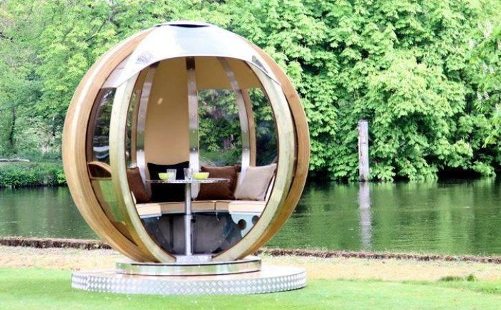Pod Your Futuristic Garden Lounge Portable Office