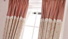 Poly Cotton Blended Lace Teen Girl Curtains