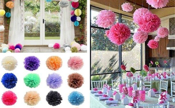 Pom Poms Party Decorations
