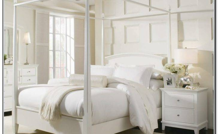 Poster Bed White Home Design Ideas