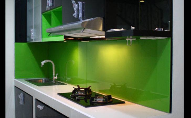 Pre Architects Black Green Kitchen