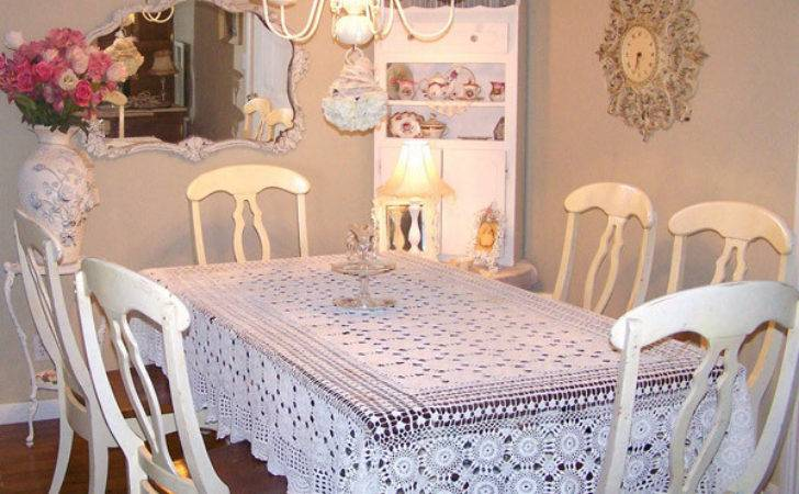 Pretty Charming Shabby Chic Dining Rooms Home