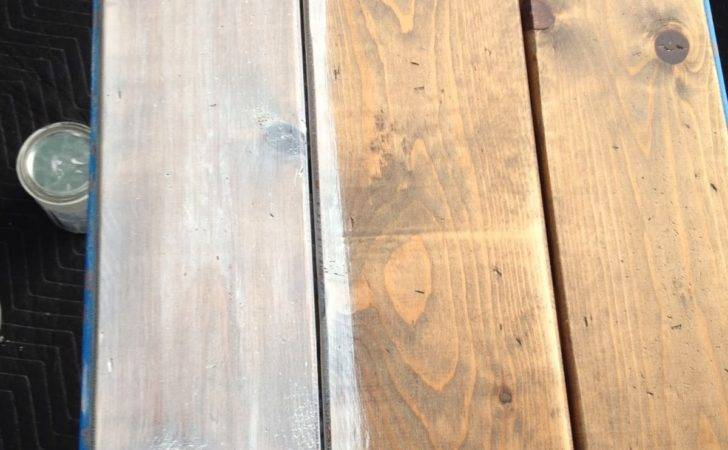 Pretty Distressed Creating Weathered Wood Finish