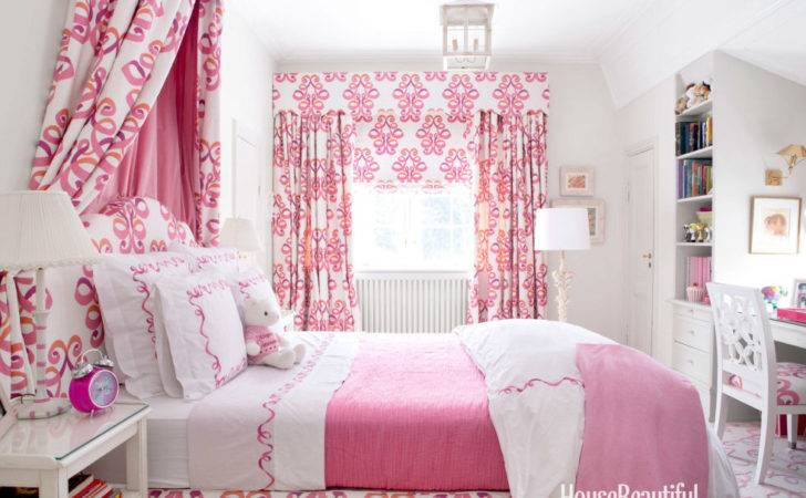 Pretty Pink Rooms