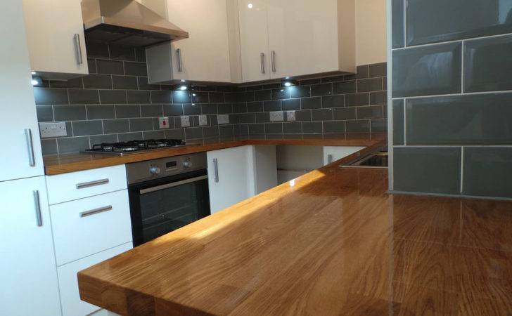 Prime Solid Oak Worktop Staves Grade