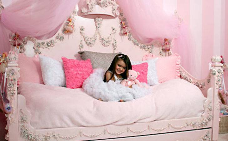 Princess Rose Daybed Luxury Baby Cribs