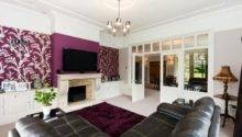 Purple Feature Wall Design Ideas Photos Inspiration