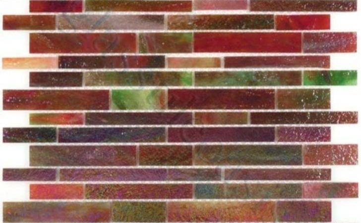Purple Random Bricks Brick Victorian Glossy