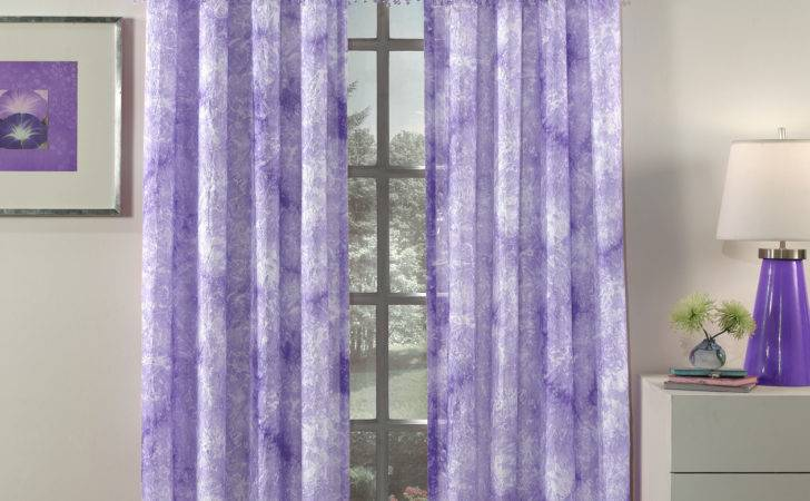 Purple Sheer Curtains Blinds