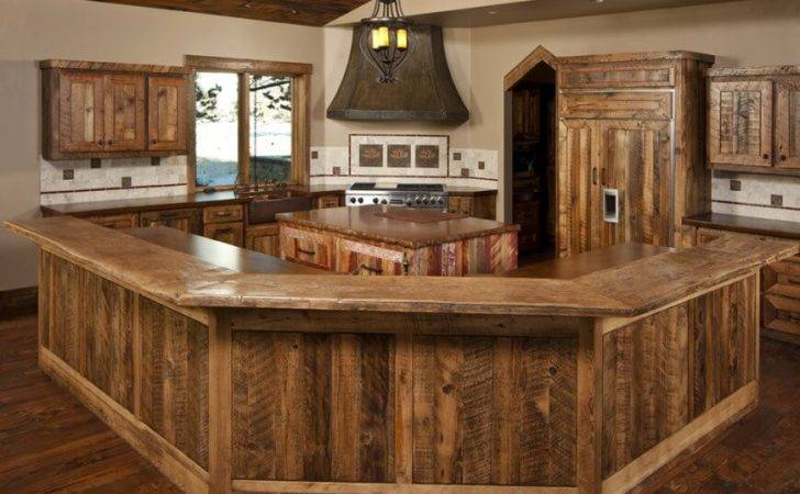 Quaint Rustic Kitchen Designs Tons Variety