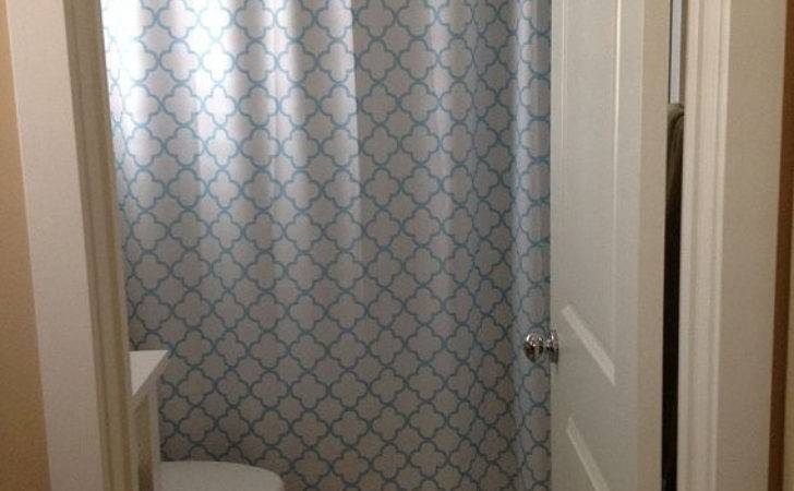 Quatrefoil Shower Curtain Pick Lattice Colors Standard