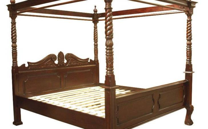 Queen Anne Four Poster Bed Akd Furniture