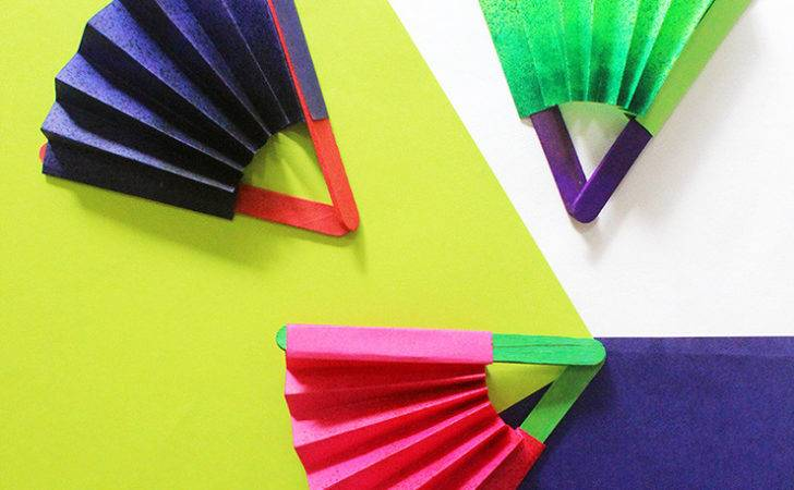 Quick Craft Make Paper Fan Craftables