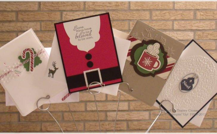 Quick Easy Christmas Cards Addicted Stamps