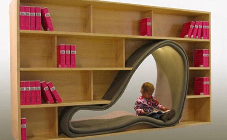 Quirky Playful Bookshelf Ideas Photos