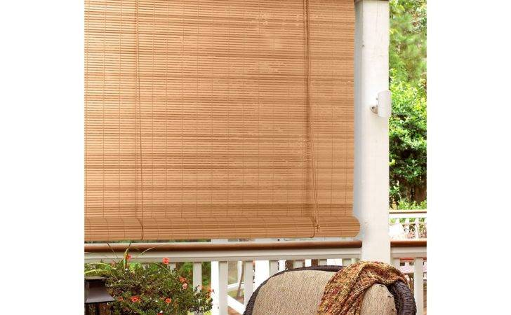 Radiance Oval Pvc Indoor Outdoor Roll Blind