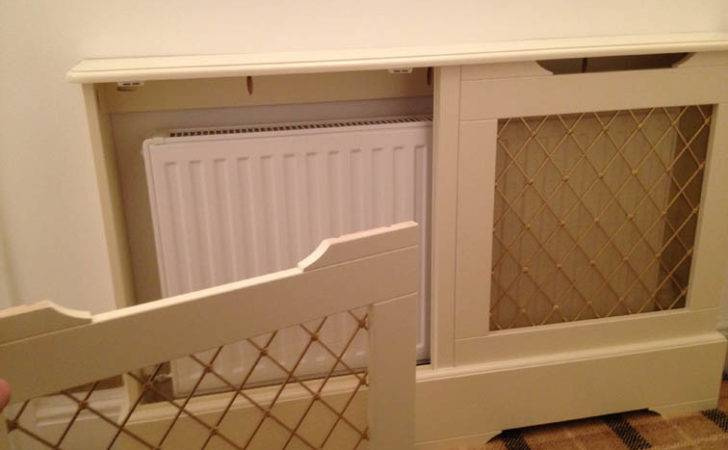 Radiator Cover Removable Front