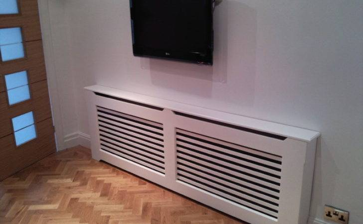 Radiator Covers Contemporary Hallway Landing