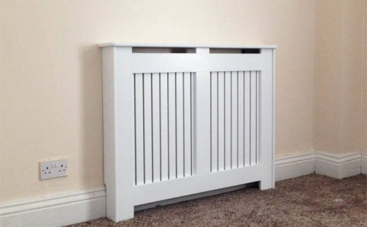 Radiator Covers Ready Made Finished Satin White