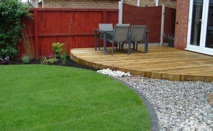 Raised Decking Ideas Small Gardens Garden Design