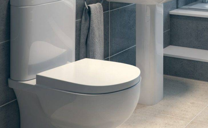 Rak Tonique Toilet Washbasin Set