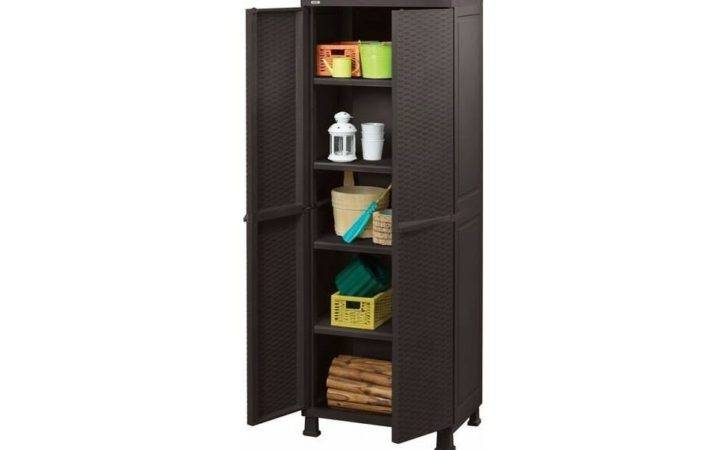 Rattan Utility Cabinet Keter
