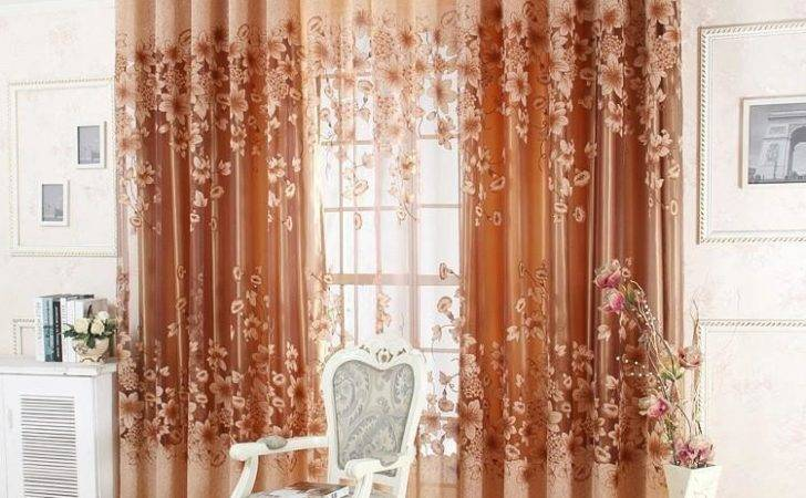 Ready Made Luxury Curtains Living Room Bedroom Tulle