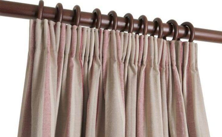 Ready Made Pencil Pleat Curtains Osea Natural Curtain