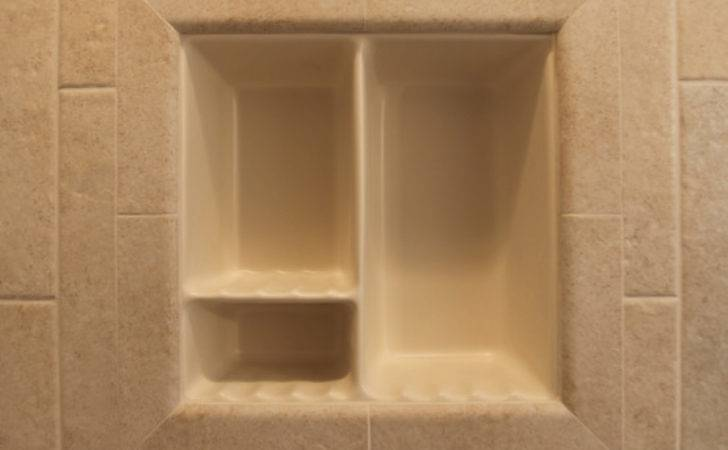 Recessed Bathroom Tile Niches Traditional Tub