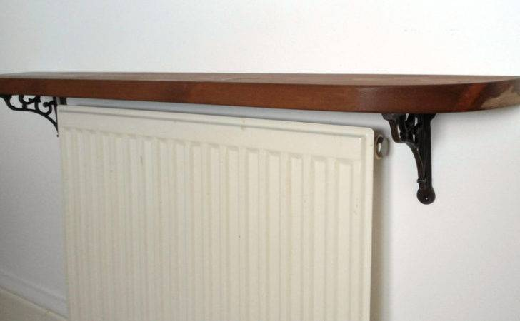 Reclaimed Timber Radiator Shelf Cover Display Rustic Style