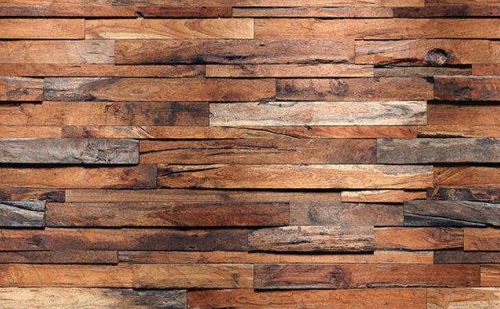 Reclaimed Wood Wall Mural Ideal Cor Murals
