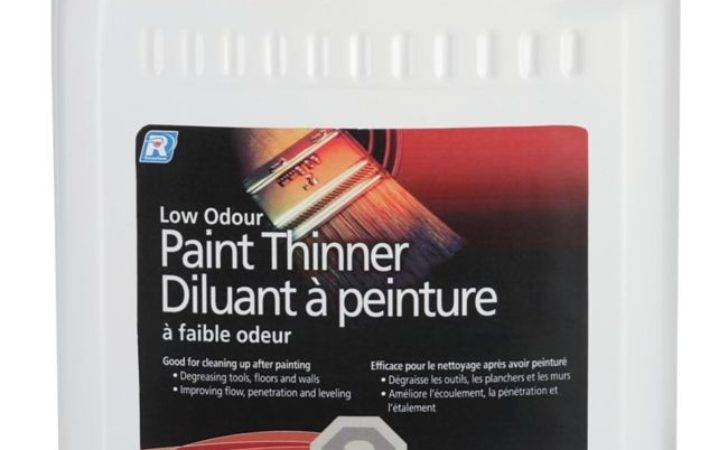 Recochem Low Odour Paint Thinner Home Depot