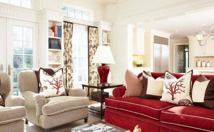 Red Couch Home Design Ideas Remodel Decor