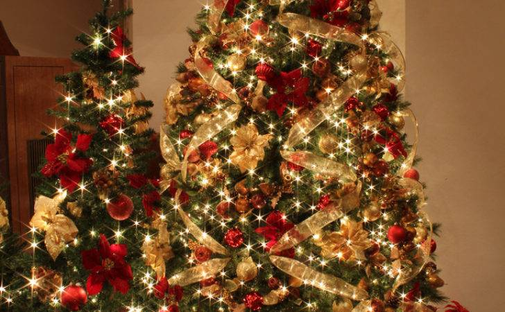 Red Gold Christmas Decorations Ideas Can Miss