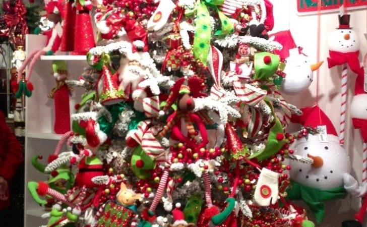 Red Green White Christmas Decorations