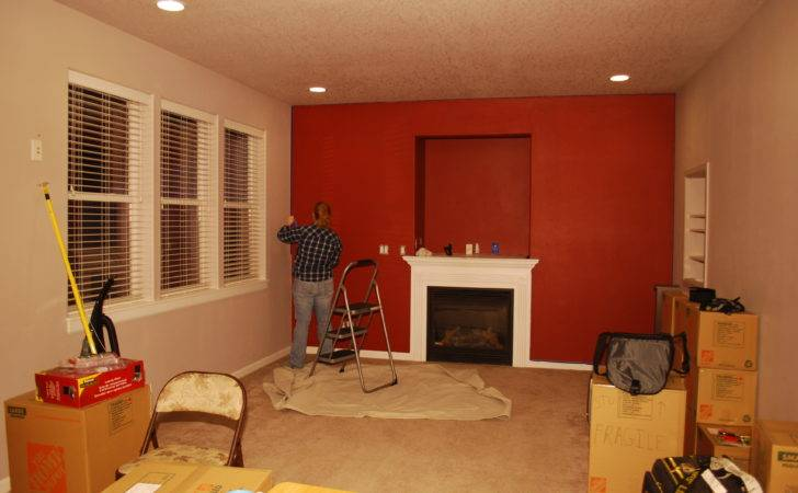 Red Living Room Paint Ideas